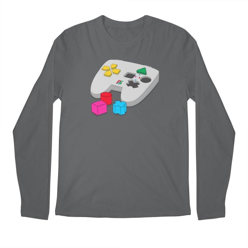 Gamer Since Early Years Men's Regular Longsleeve T-Shirt by DavidBS