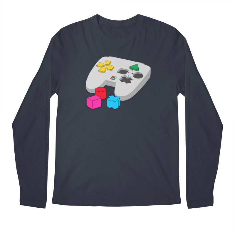Gamer Since Early Years Men's Regular Longsleeve T-Shirt by DavidBS