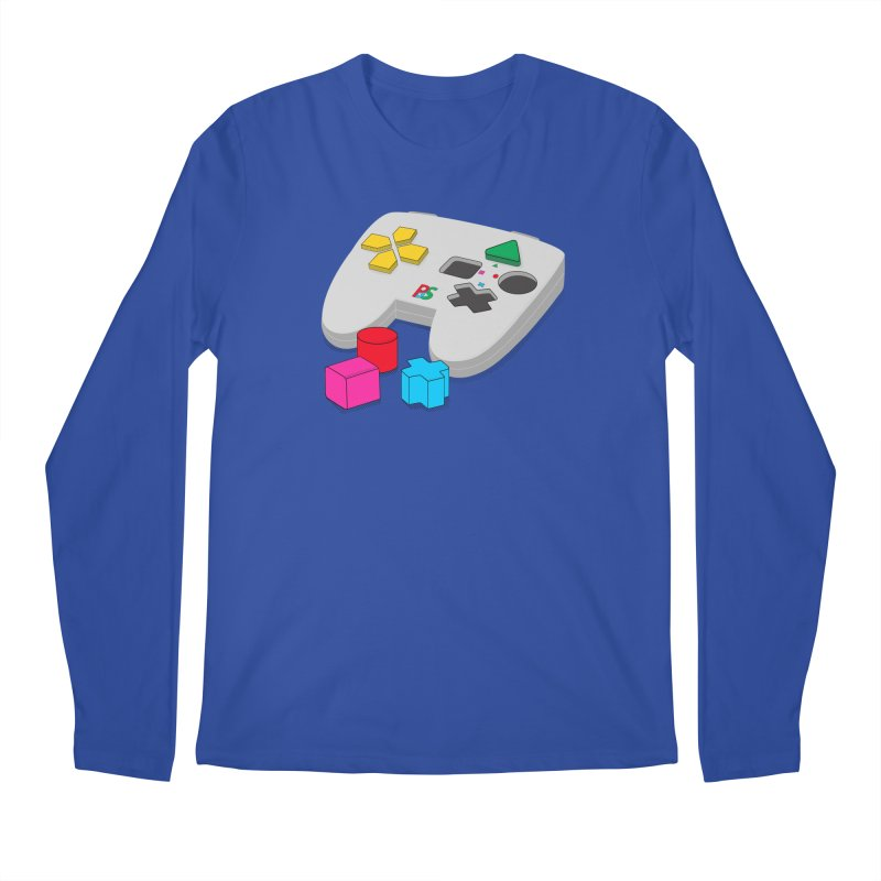 Gamer Since Early Years Men's Longsleeve T-Shirt by DavidBS