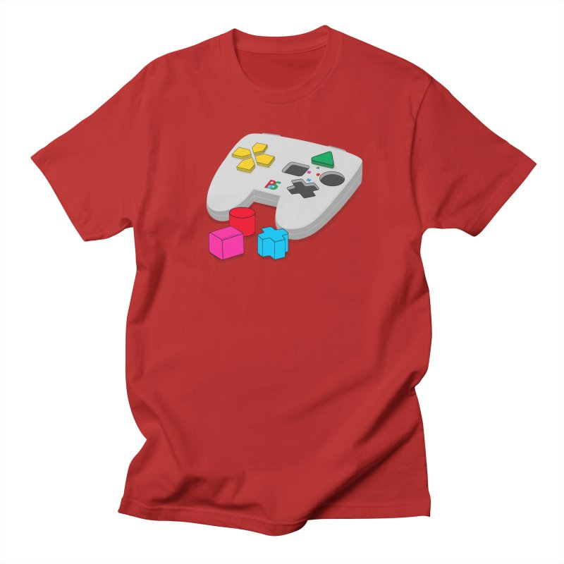 Gamer Since Early Years Men's T-shirt by DavidBS