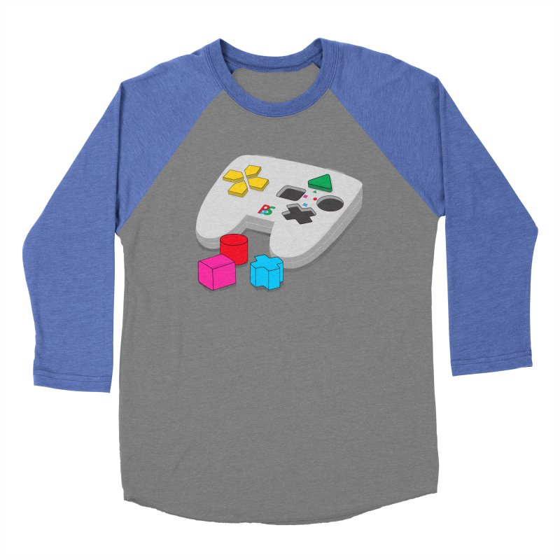 Gamer Since Early Years Men's Baseball Triblend Longsleeve T-Shirt by DavidBS