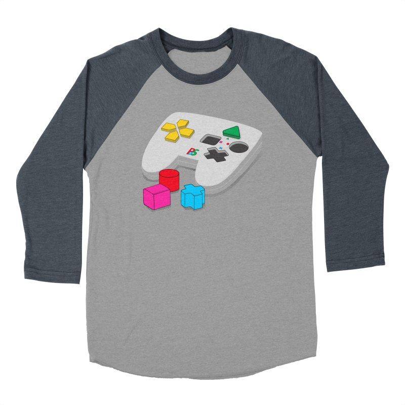 Gamer Since Early Years Men's Baseball Triblend Longsleeve T-Shirt by DavidBS