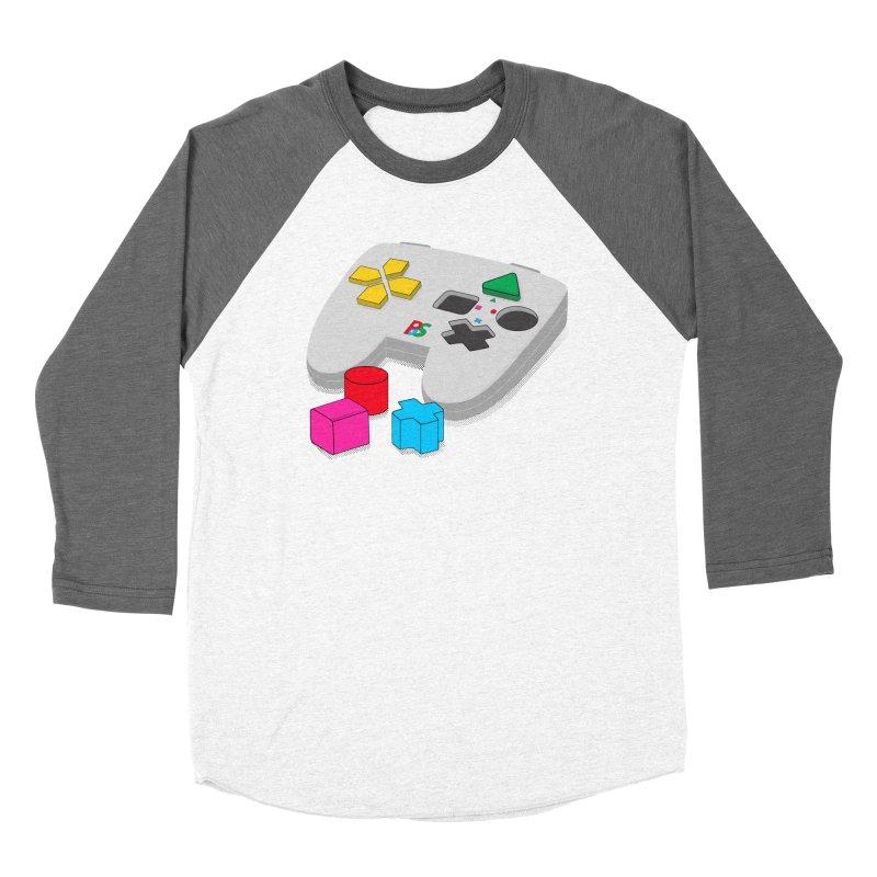 Gamer Since Early Years Men's Baseball Triblend T-Shirt by DavidBS