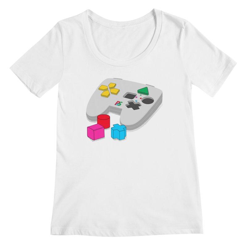 Gamer Since Early Years Women's Regular Scoop Neck by DavidBS