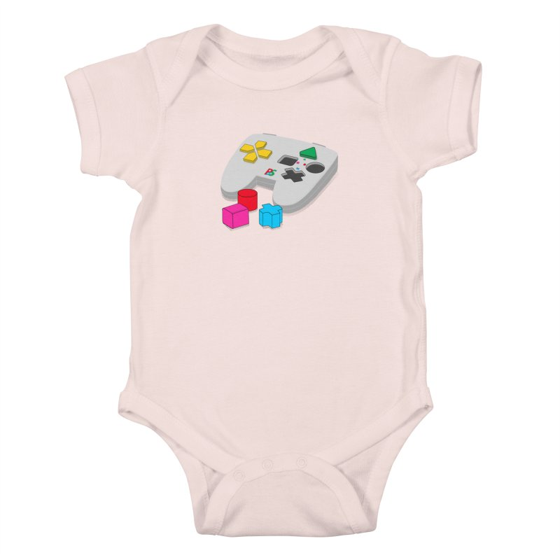 Gamer Since Early Years Kids Baby Bodysuit by DavidBS