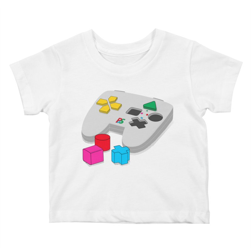 Gamer Since Early Years Kids Baby T-Shirt by DavidBS