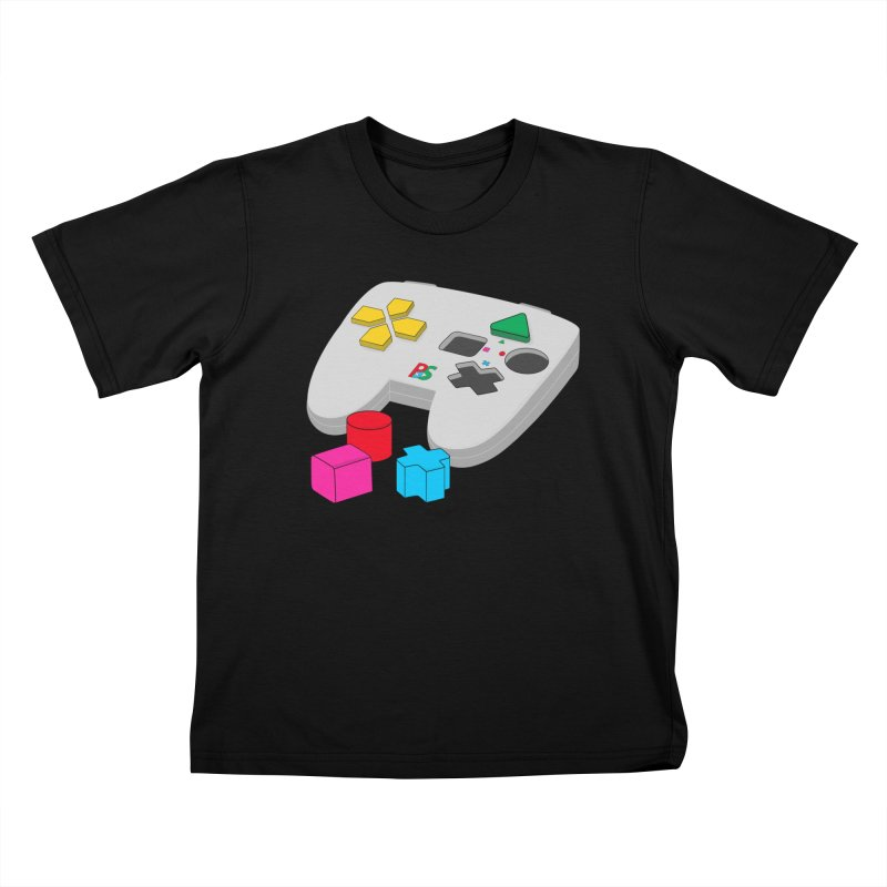 Gamer Since Early Years Kids T-Shirt by DavidBS