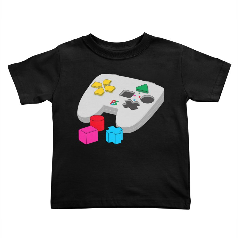 Gamer Since Early Years Kids Toddler T-Shirt by DavidBS