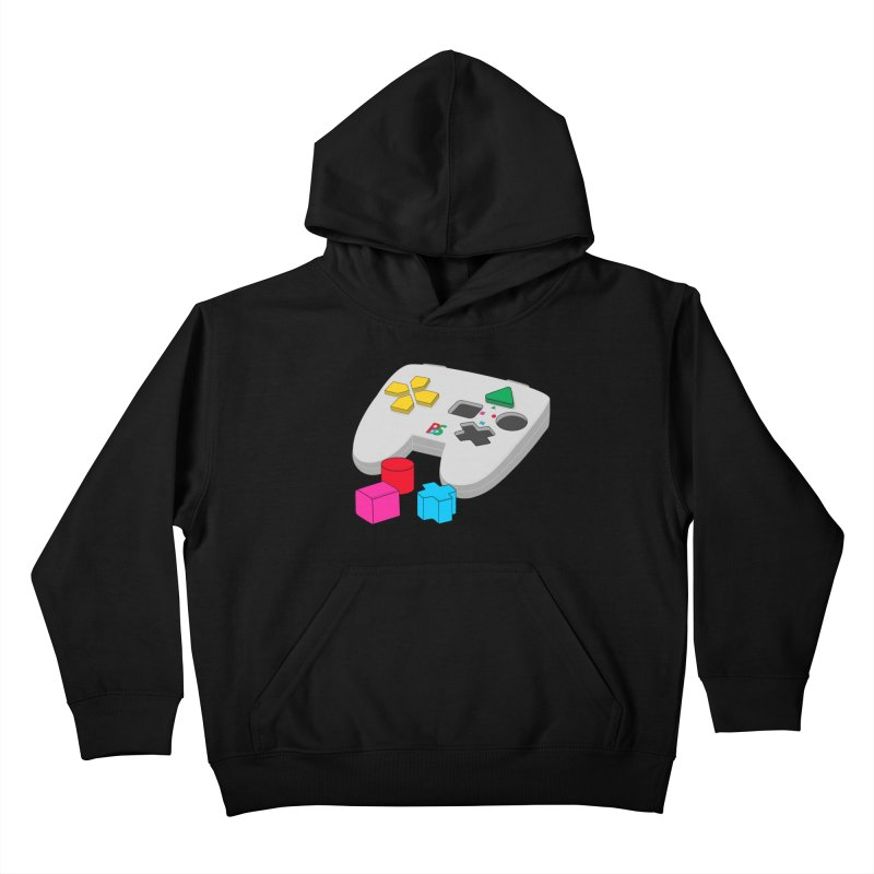 Gamer Since Early Years Kids Pullover Hoody by DavidBS