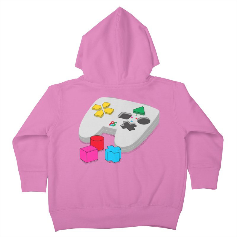 Gamer Since Early Years Kids Toddler Zip-Up Hoody by DavidBS
