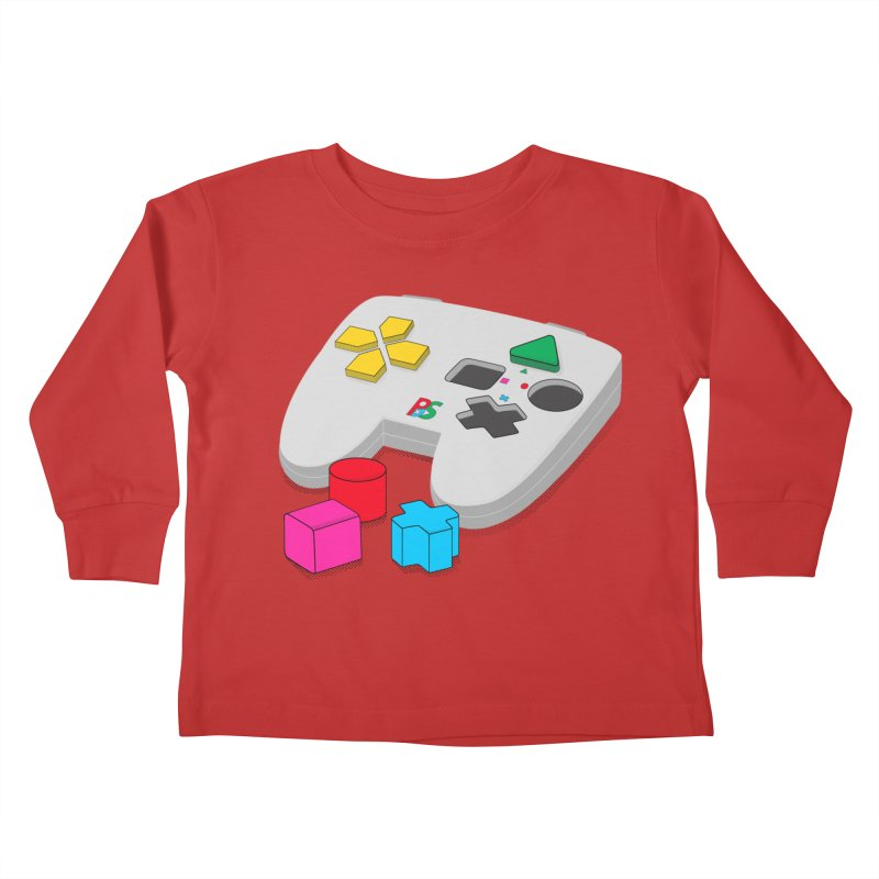 Gamer Since Early Years Kids Toddler Longsleeve T-Shirt by DavidBS