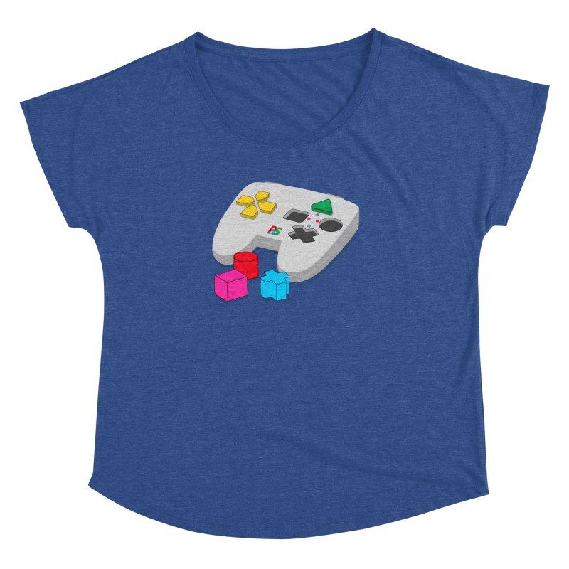 Gamer Since Early Years Women's Dolman Scoop Neck by DavidBS