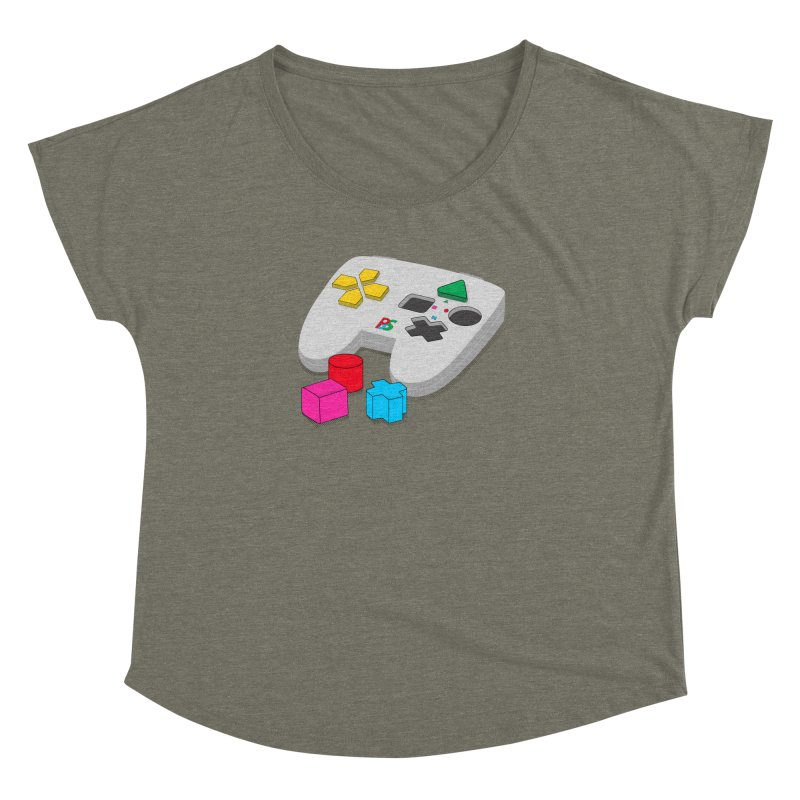 Gamer Since Early Years Women's Dolman Scoop Neck by DavidBS