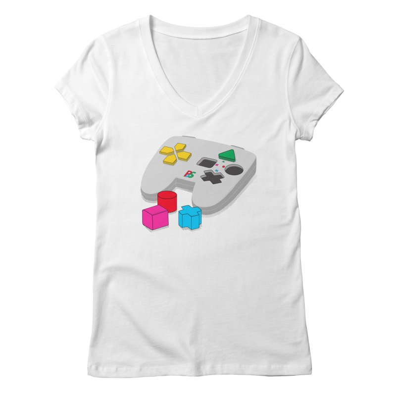 Gamer Since Early Years Women's Regular V-Neck by DavidBS