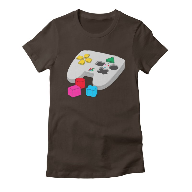 Gamer Since Early Years Women's Fitted T-Shirt by DavidBS