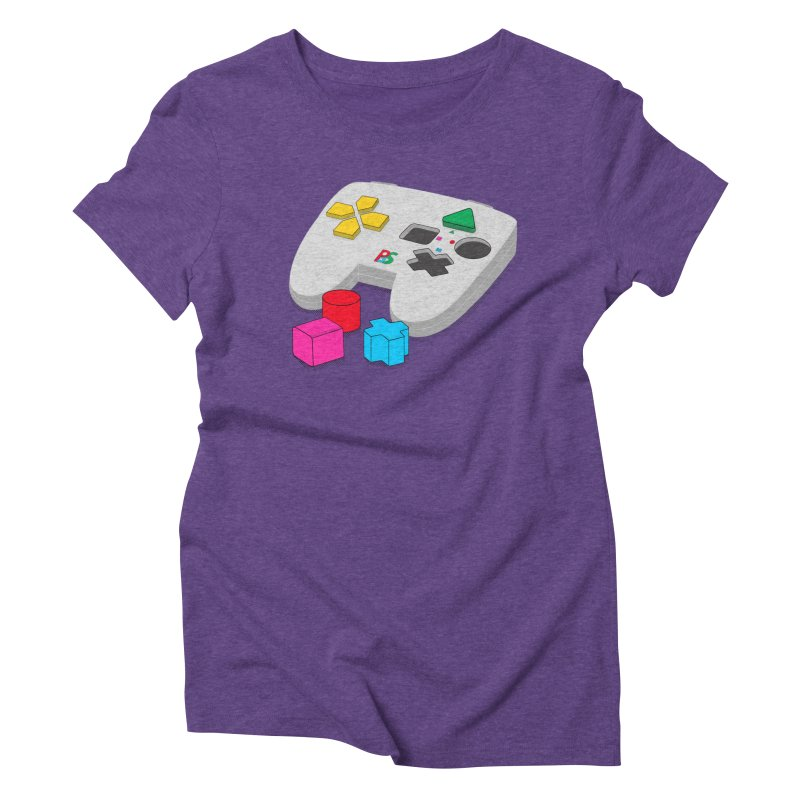 Gamer Since Early Years Women's Triblend T-Shirt by DavidBS