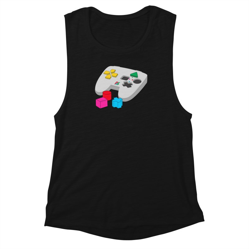 Gamer Since Early Years Women's Tank by DavidBS