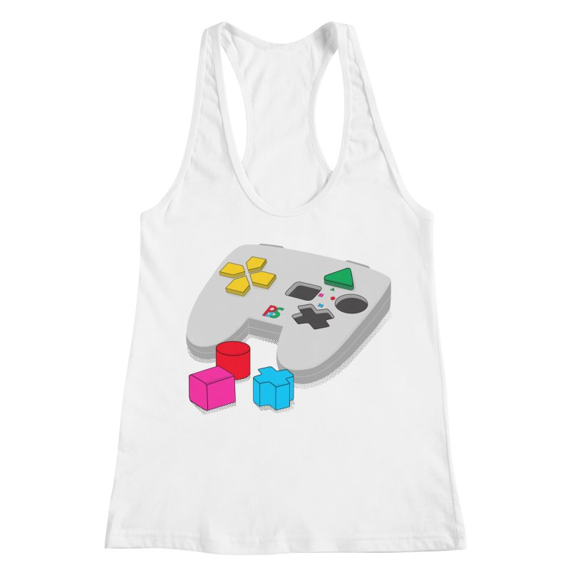 Gamer Since Early Years Women's Racerback Tank by DavidBS