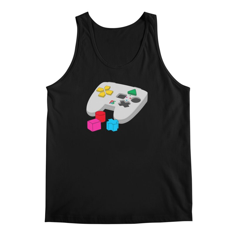 Gamer Since Early Years Men's Tank by DavidBS