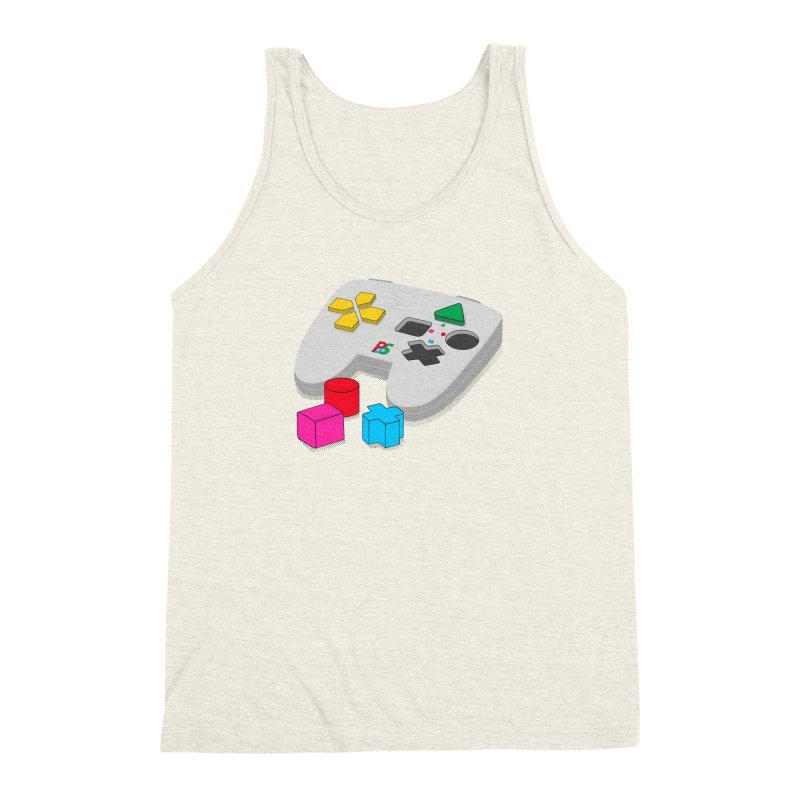 Gamer Since Early Years Men's Triblend Tank by DavidBS