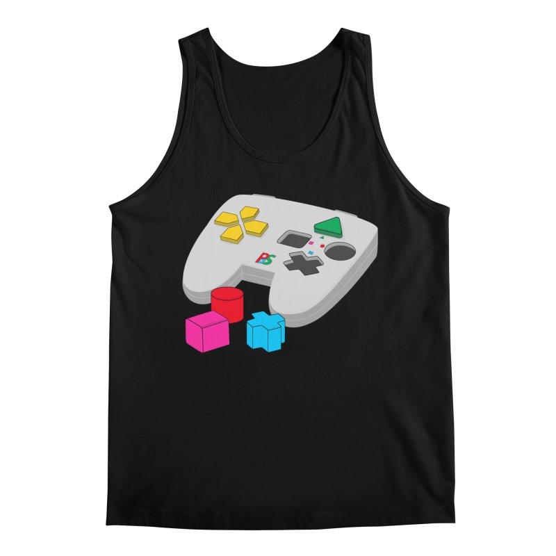 Gamer Since Early Years Men's Regular Tank by DavidBS