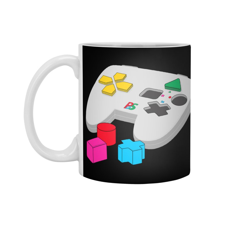 Gamer Since Early Years Accessories Standard Mug by DavidBS