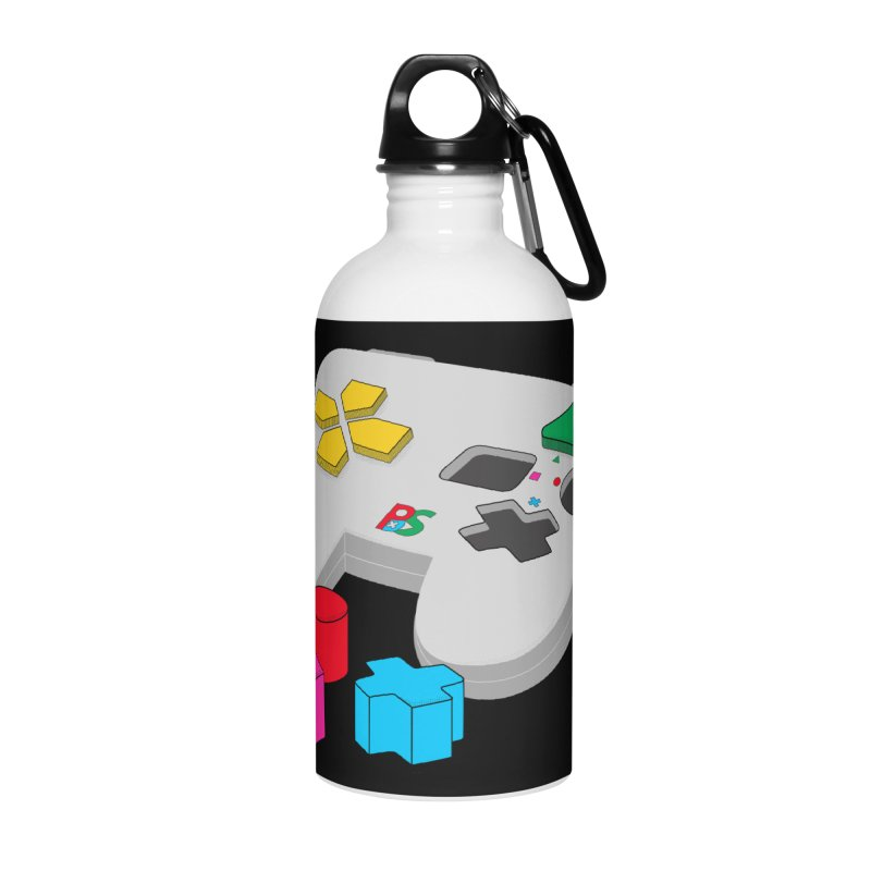 Gamer Since Early Years Accessories Water Bottle by DavidBS