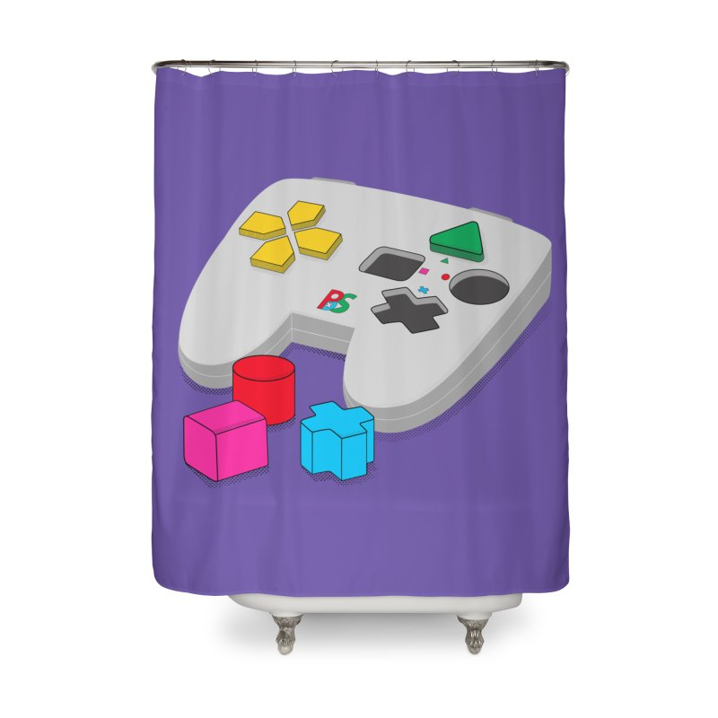 Gamer Since Early Years Home Shower Curtain by DavidBS
