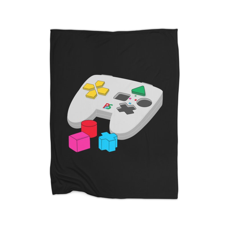 Gamer Since Early Years Home Fleece Blanket Blanket by DavidBS