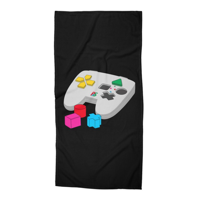 Gamer Since Early Years Accessories Beach Towel by DavidBS