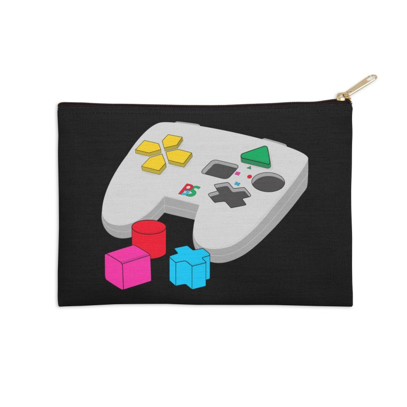 Gamer Since Early Years Accessories Zip Pouch by DavidBS