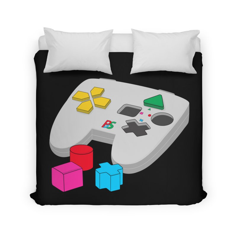 Gamer Since Early Years Home Duvet by DavidBS