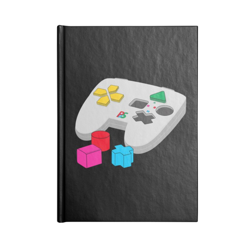 Gamer Since Early Years Accessories Lined Journal Notebook by DavidBS