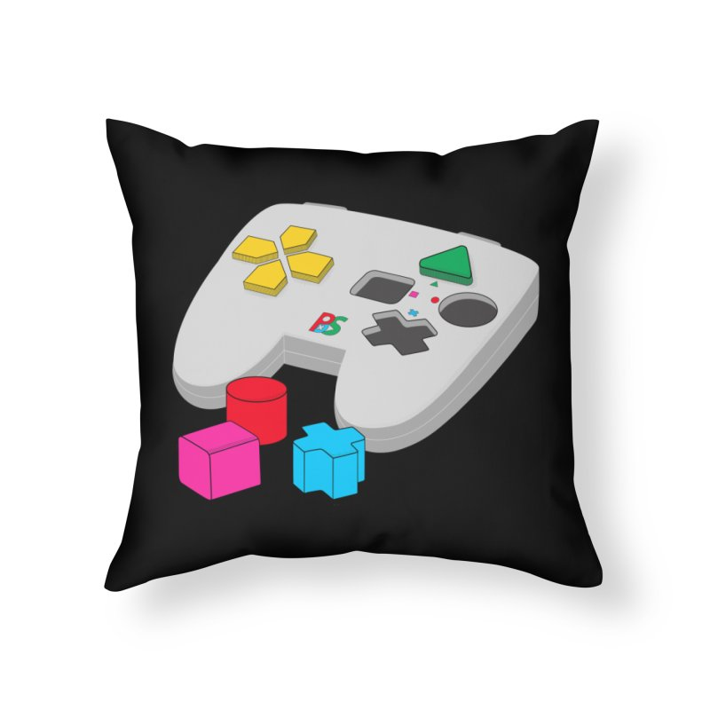 Gamer Since Early Years Home Throw Pillow by DavidBS