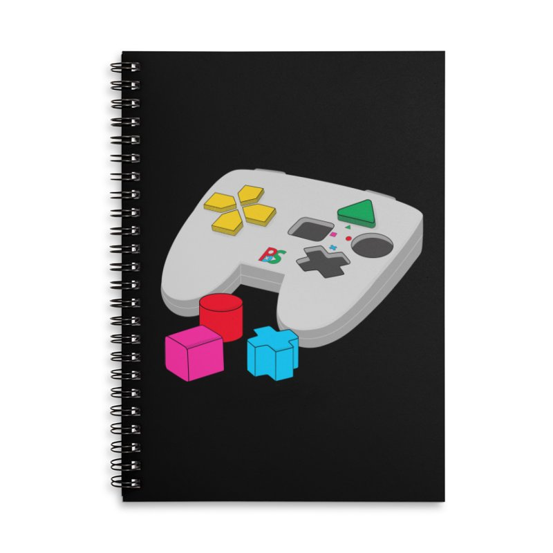 Gamer Since Early Years Accessories Lined Spiral Notebook by DavidBS