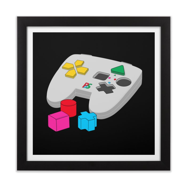 Gamer Since Early Years Home Framed Fine Art Print by DavidBS