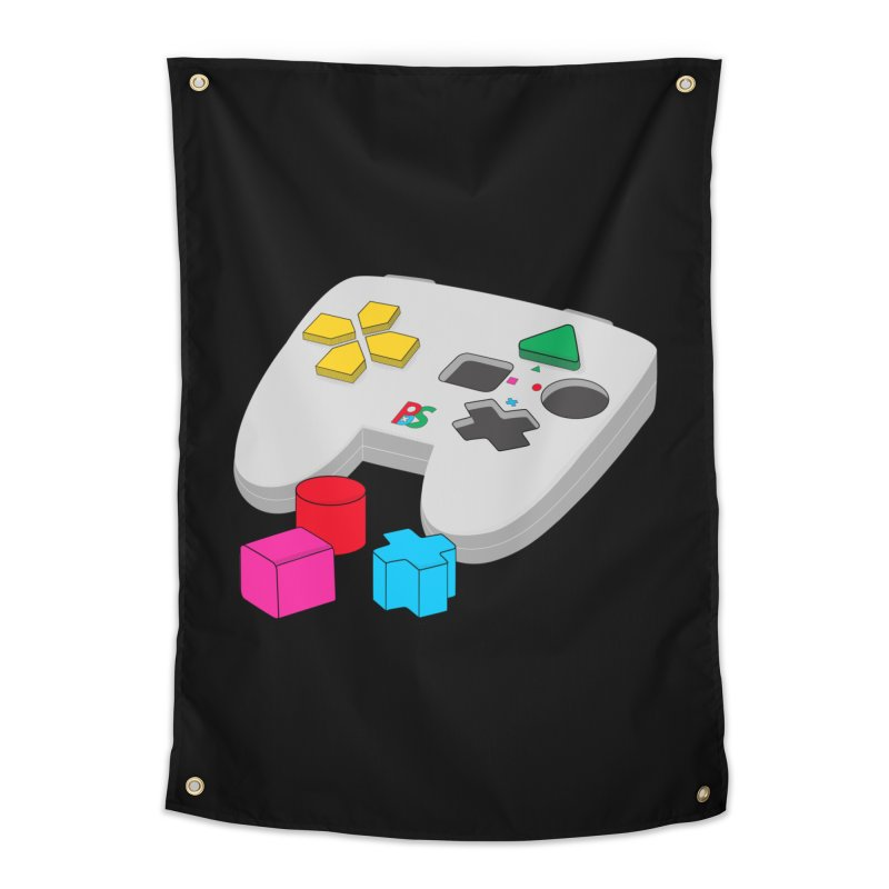 Gamer Since Early Years Home Tapestry by DavidBS