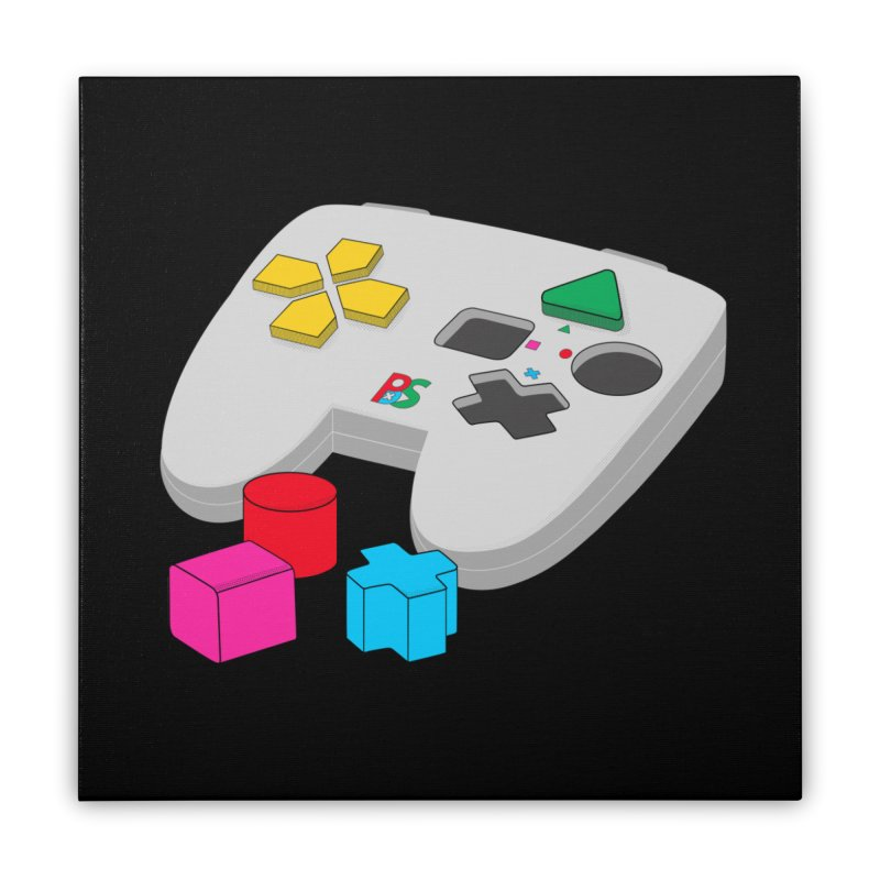 Gamer Since Early Years Home Stretched Canvas by DavidBS