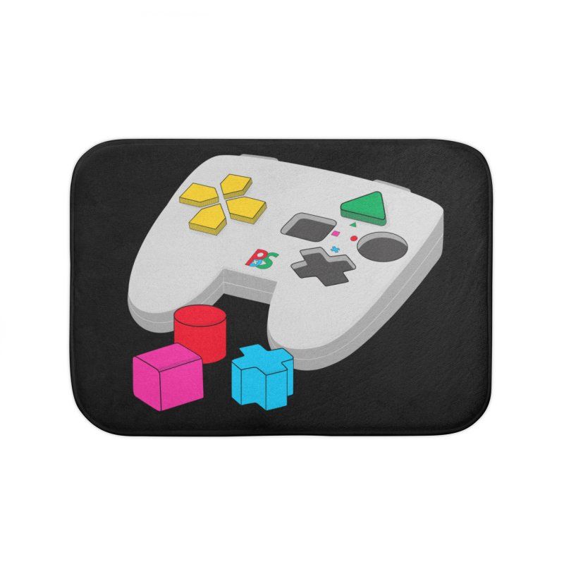 Gamer Since Early Years Home Bath Mat by DavidBS