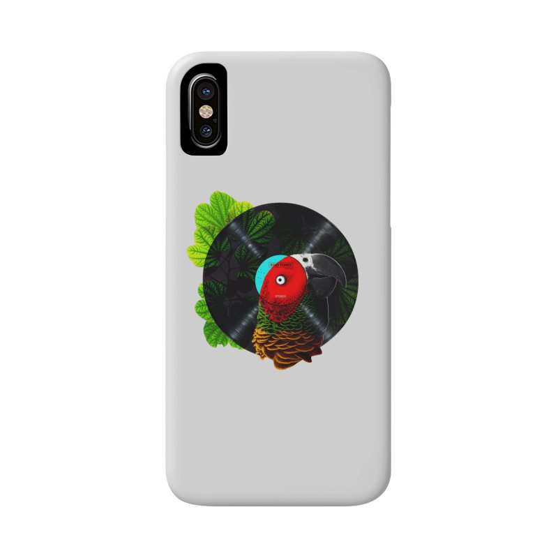 Bird Tunes Accessories Phone Case by DavidBS