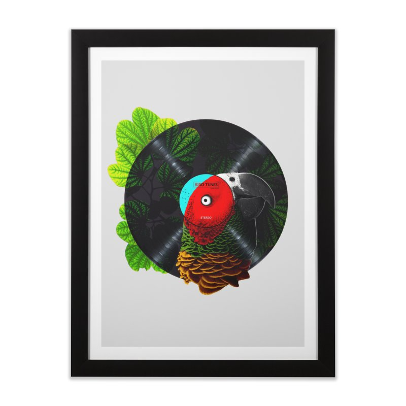 Bird Tunes Home Framed Fine Art Print by DavidBS