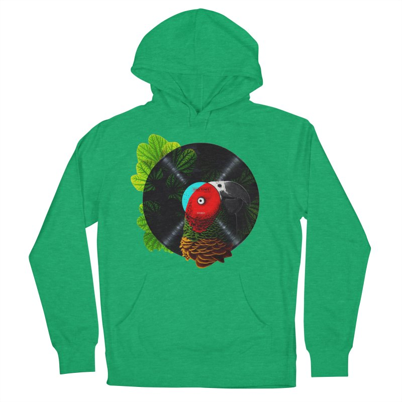 Bird Tunes Women's French Terry Pullover Hoody by DavidBS