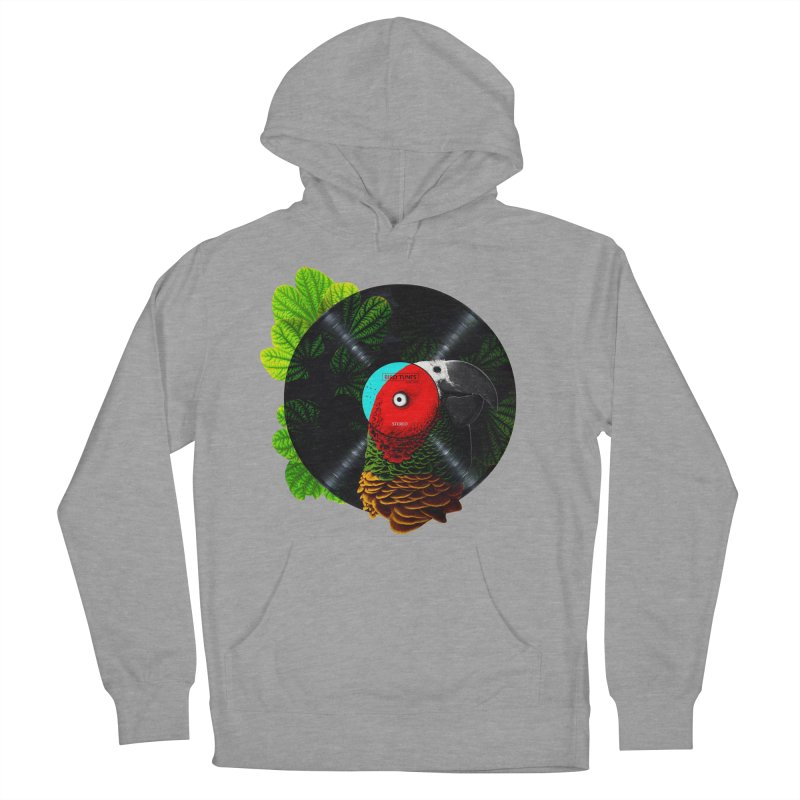 Bird Tunes Men's French Terry Pullover Hoody by DavidBS