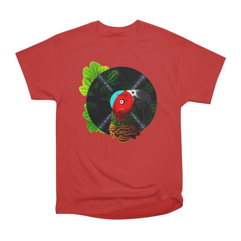 Bird Tunes Men's Heavyweight T-Shirt by DavidBS