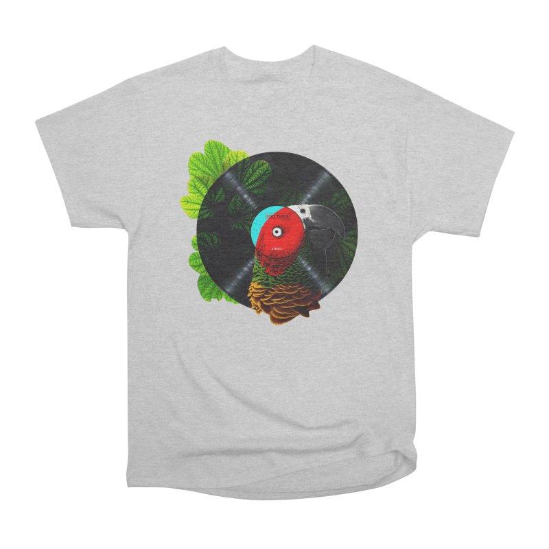 Bird Tunes Men's Classic T-Shirt by DavidBS
