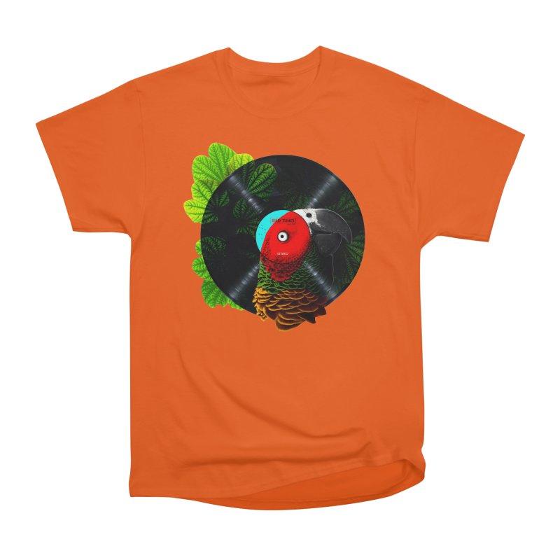 Bird Tunes Women's Classic Unisex T-Shirt by DavidBS
