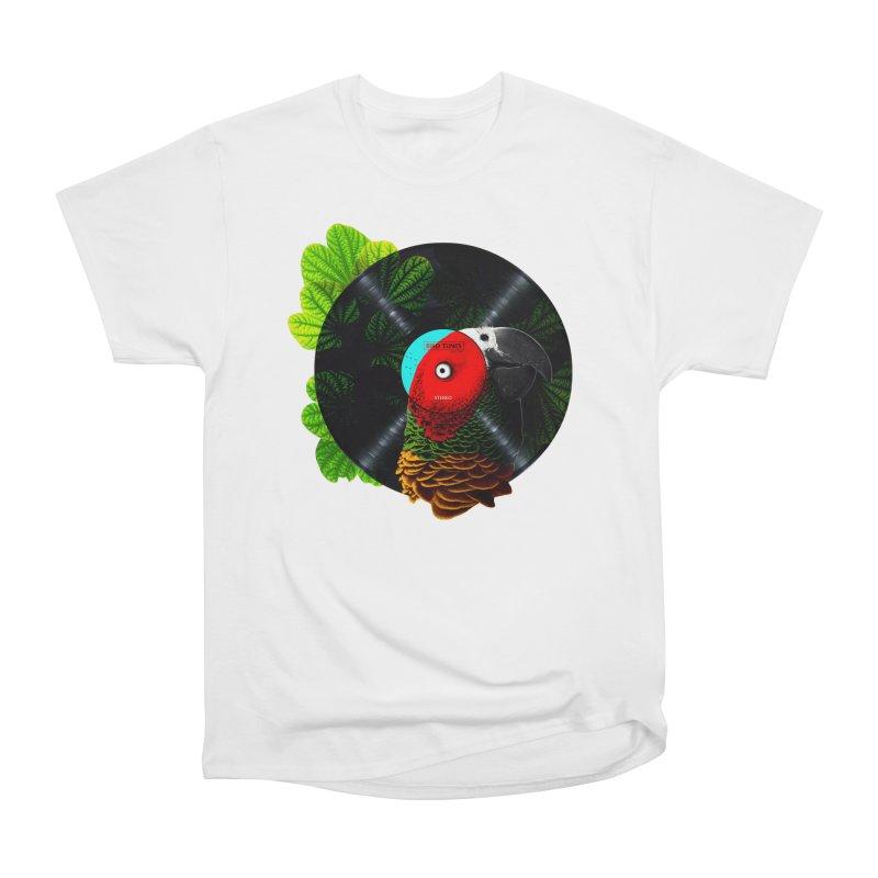 Bird Tunes Women's Heavyweight Unisex T-Shirt by DavidBS