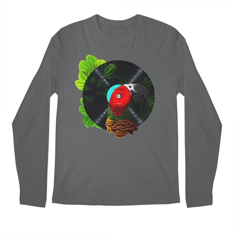 Bird Tunes Men's Longsleeve T-Shirt by DavidBS