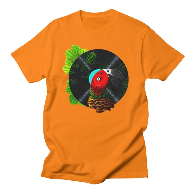 Bird Tunes Women's Unisex T-Shirt by DavidBS