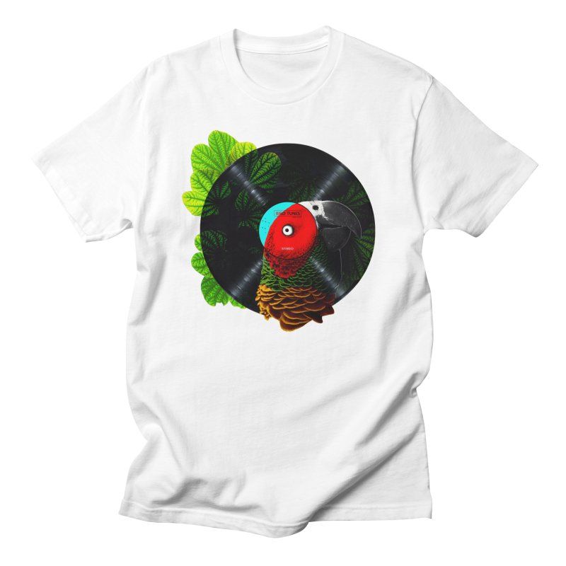 Bird Tunes Women's Regular Unisex T-Shirt by DavidBS